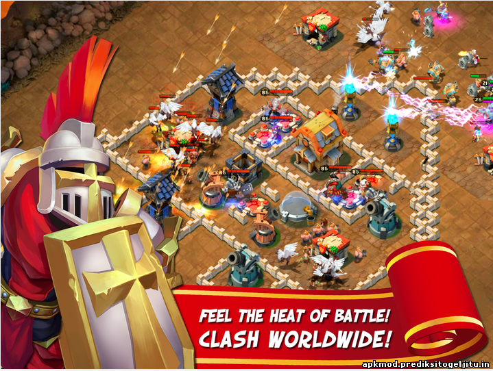 Castle Clash v1.2.17 Modded apk