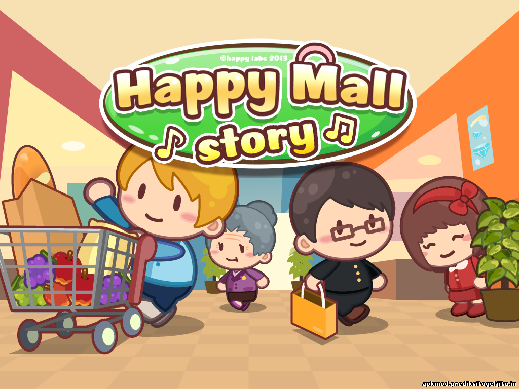 Happy Mall Story MOD APK v1.1.2, Unlimited Golds and Crystals
